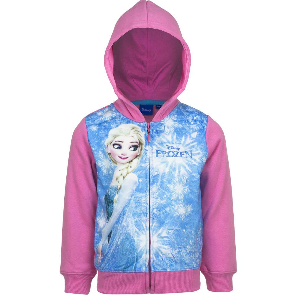 Disney Frozen Elsa Huvtröja Med Dragkedja ROSA Rosa