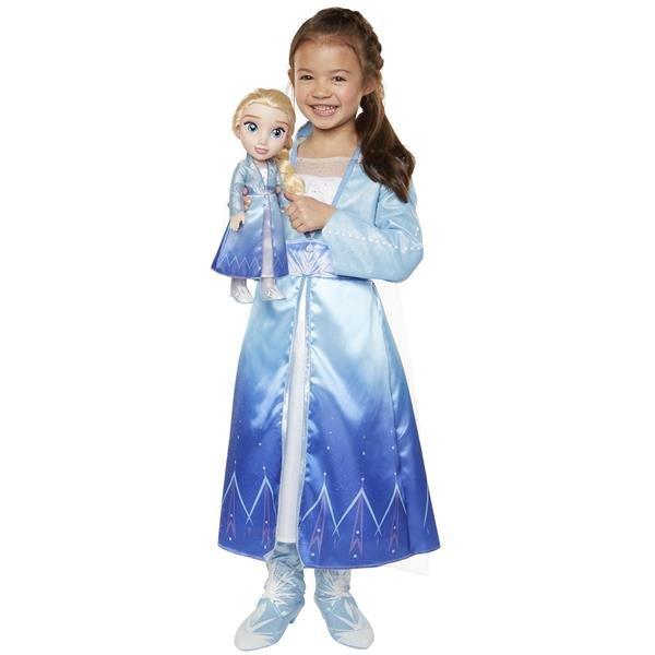 Frozen 2 Elsa Docka och klänning
