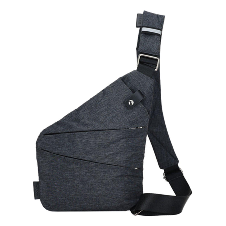Axelväska Väska Multifunktionell (Mörkgrå)