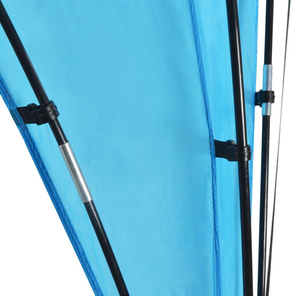 Partytält valv 450x450x265 cm mörkblå