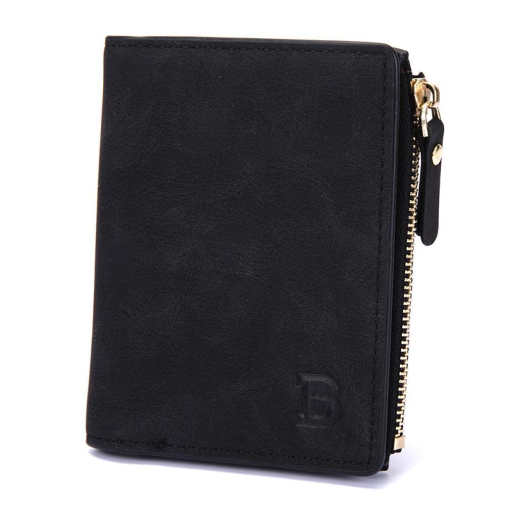 plånbok med dragkedja