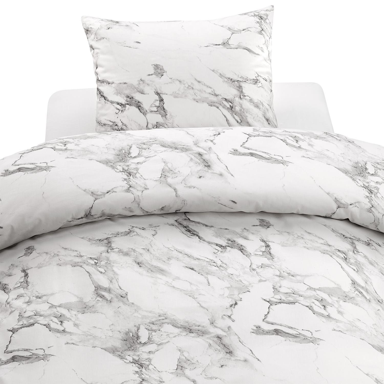 marmor påslakan dubbel